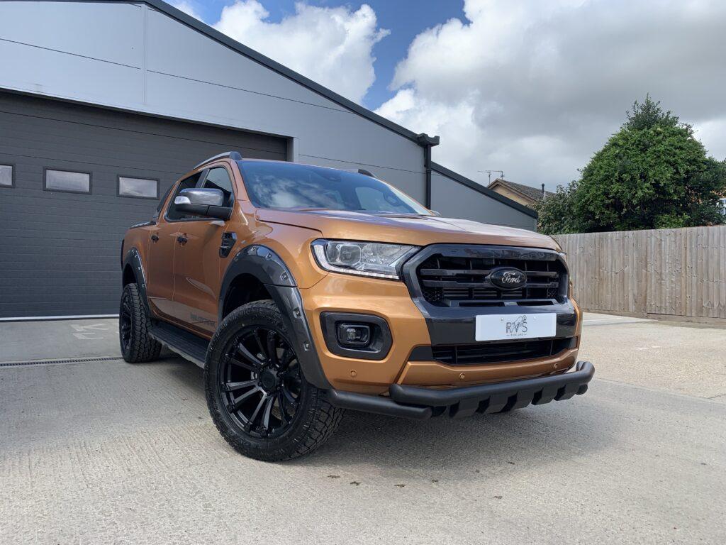 ford ranger orange